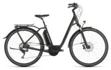 E-Bike Cube Town Sport Hybrid EXC 500 green Easy Entry