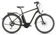E-Bike Cube Town Sport Hybrid EXC 500 green´n´black