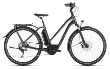 E-Bike Cube Town Sport Hybrid EXC 500 iridium´n´copper Trapez