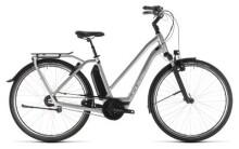 E-Bike Cube Town Hybrid SL 500 silver´n´white Trapez
