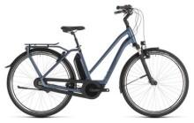 E-Bike Cube Town Hybrid EXC 400 blue´n´blue Trapez