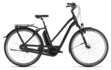 E-Bike Cube Town Hybrid EXC 400 black edition Trapez