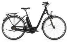 E-Bike Cube Town Hybrid ONE 400 black´n´brown