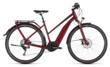 E-Bike Cube Touring Hybrid EXC 500 darkred´n´red Trapez
