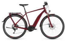 E-Bike Cube Touring Hybrid EXC 500 darkred´n´red