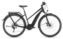 E-Bike Cube Touring Hybrid EXC 500 black´n´grey Trapez