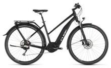 E-Bike Cube Touring Hybrid Pro 500 black´n´white Trapez