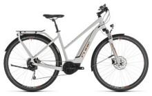 E-Bike Cube Touring Hybrid 500 grey´n´orange Trapez