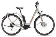 E-Bike Cube Touring Hybrid 500 grey´n´orange Easy Entry