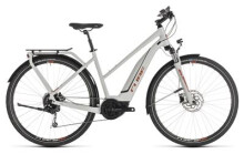 E-Bike Cube Touring Hybrid 400 grey´n´orange Trapez