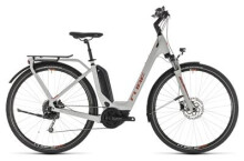E-Bike Cube Touring Hybrid 400 grey´n´orange Easy Entry