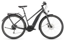 E-Bike Cube Touring Hybrid 400 iridium´n´black Trapez