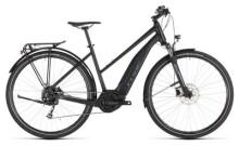 E-Bike Cube Touring Hybrid ONE 400 black´n´blue Trapez