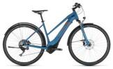 E-Bike Cube Cross Hybrid Race 500 Allroad blue Trapez