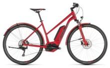 E-Bike Cube Cross Hybrid Pro 500 Allroad red´n´grey Trapez