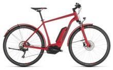 E-Bike Cube Cross Hybrid Pro 500 Allroad red´n´grey