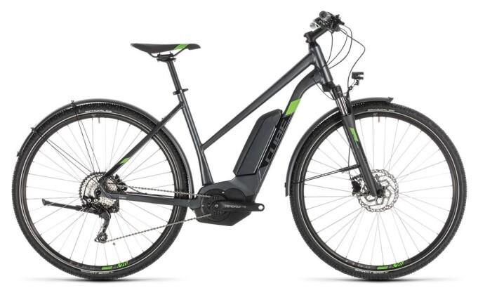 E-Bike Cube Cross Hybrid Pro 500 Allroad iridium Trapez 2019