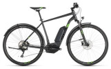 E-Bike Cube Cross Hybrid Pro 500 Allroad iridium´n´green