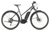 E-Bike Cube Cross Hybrid Pro 400 Allroad iridium Trapez