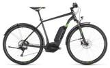E-Bike Cube Cross Hybrid Pro 400 Allroad iridium´n´green