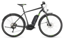 E-Bike Cube Cross Hybrid Pro 400 Allroad iridium´n´green