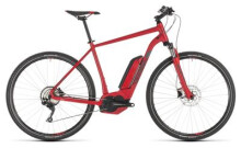 E-Bike Cube Cross Hybrid Pro 400 red´n´grey