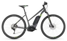 E-Bike Cube Cross Hybrid Pro 500 iridium´n´green Trapez