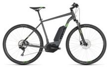 E-Bike Cube Cross Hybrid Pro 500 iridium´n´green