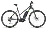 E-Bike Cube Cross Hybrid Pro 400 iridium´n´green Trapez