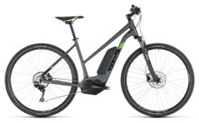 E-Bike Cube Cross Hybrid Pro 400 iridium´n´green Trapez