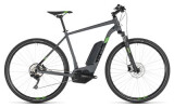 E-Bike Cube Cross Hybrid Pro 400 iridium´n´green