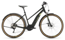 E-Bike Cube Cross Hybrid EXC 500 Allroad green´n´green Trapez