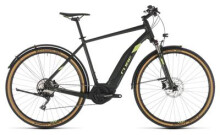 E-Bike Cube Cross Hybrid EXC 500 Allroad green´n´green