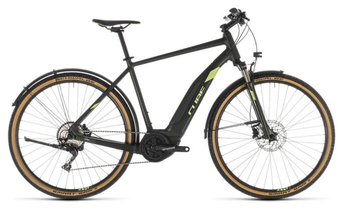 E-Bike Cube Cross Hybrid EXC 500 Allroad green´n´green 2019