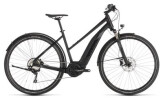 E-Bike Cube Cross Hybrid EXC 500 Allroad black´n´grey Trapez
