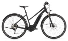 E-Bike Cube Cross Hybrid EXC 500 Allroad black´n´grey Trapez
