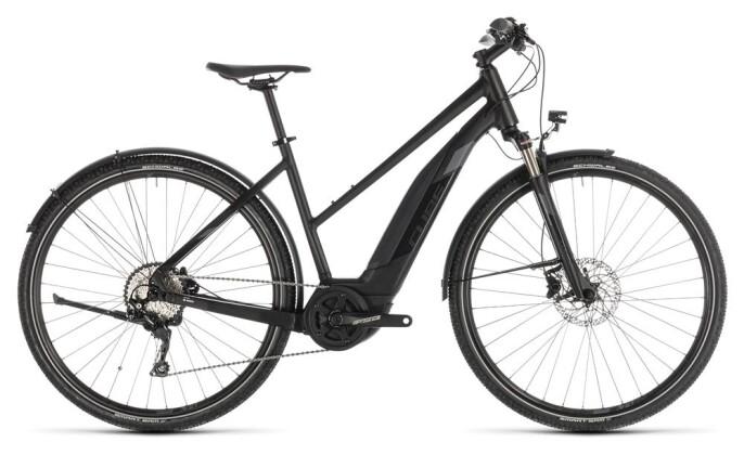 E-Bike Cube Cross Hybrid EXC 500 Allroad black´n´grey Trapez 2019