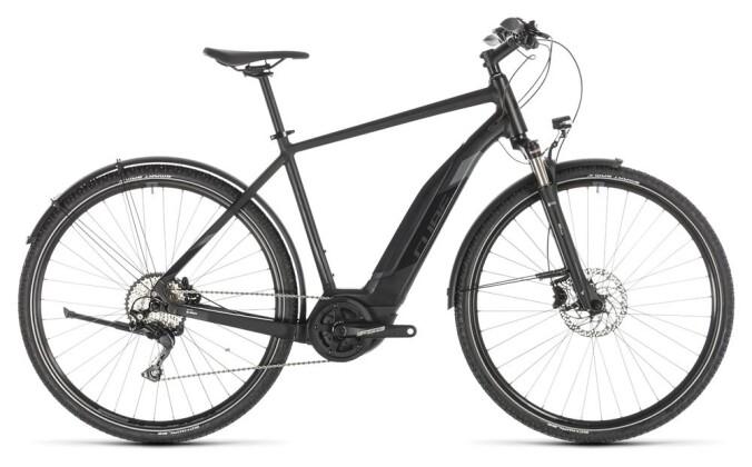 E-Bike Cube Cross Hybrid EXC 500 Allroad black´n´grey 2019