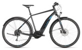 E-Bike Cube Cross Hybrid ONE 400 Allroad iridium´n´blue