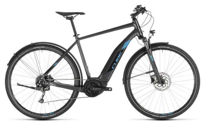 E-Bike Cube Cross Hybrid ONE 400 Allroad iridium´n´blue 2019