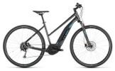 E-Bike Cube Cross Hybrid ONE 400 iridium´n´blue Trapez