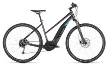 E-Bike Cube Cross Hybrid ONE 400 iridium´n´blue Trapez