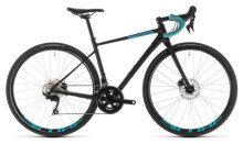 Rennrad Cube Axial WS Race Disc black´n´darkmint