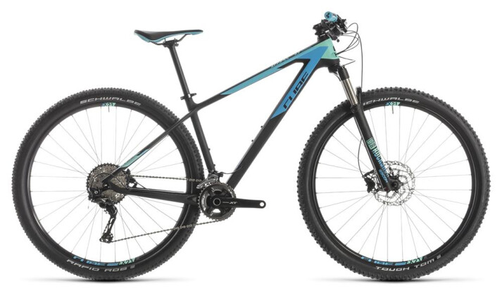 Mountainbike Cube Access WS C:62 Pro carbon´n´aqua 2019