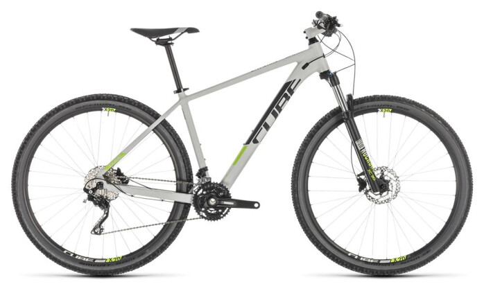 Mountainbike Cube Attention grey´n´green 2019
