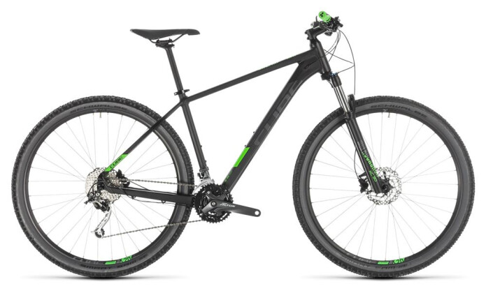 Mountainbike Cube Analog black´n´green 2019