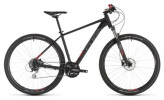 Mountainbike Cube Aim Race black´n´red