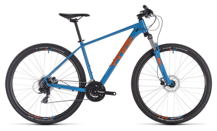 Mountainbike Cube Aim Pro blue´n´orange 2019