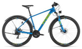 Kinder / Jugend Cube Aim Allroad blue´n´green
