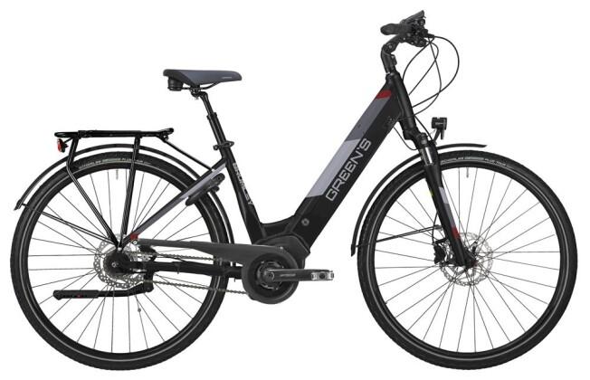 E-Bike Green's Bromley black Damen 2019
